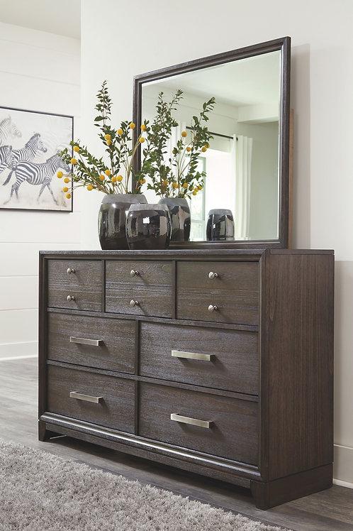 Brueban - Rich Brown - Dresser & Mirror