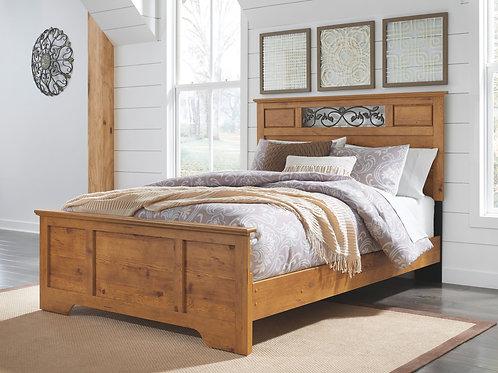 Bittersweet - Light Brown - Queen Panel Bed