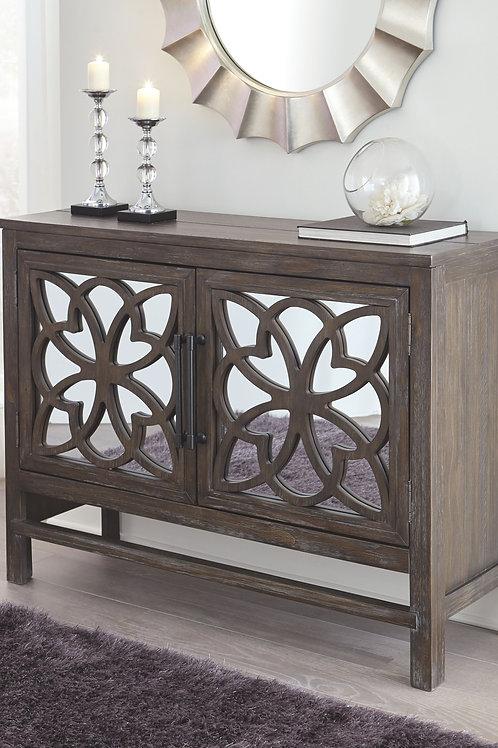 Alvaton - Antique Brown - Accent Cabinet