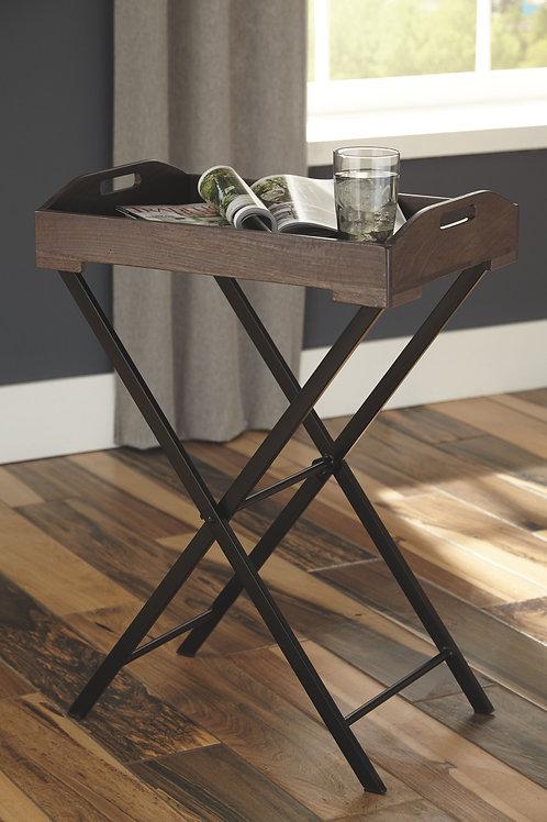 Cadocridge - Gray/Black - Accent Table