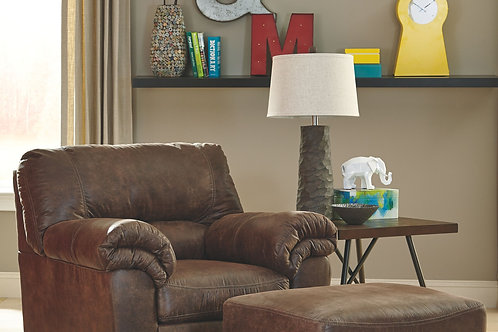 Bladen - Coffee - Chair with Ottoman