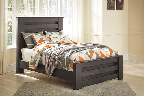 Brinxton - Black - Full Panel Bed