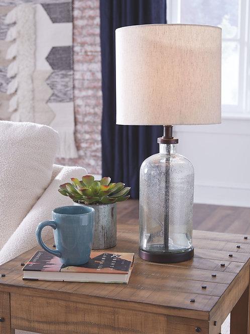 Bandile - Clear/Bronze Finish - Glass Table Lamp (1/CN)