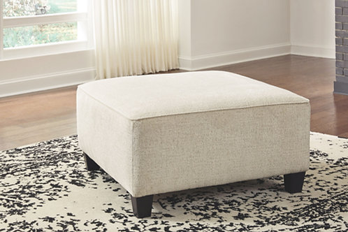 Abinger - Natural - Oversized Accent Ottoman