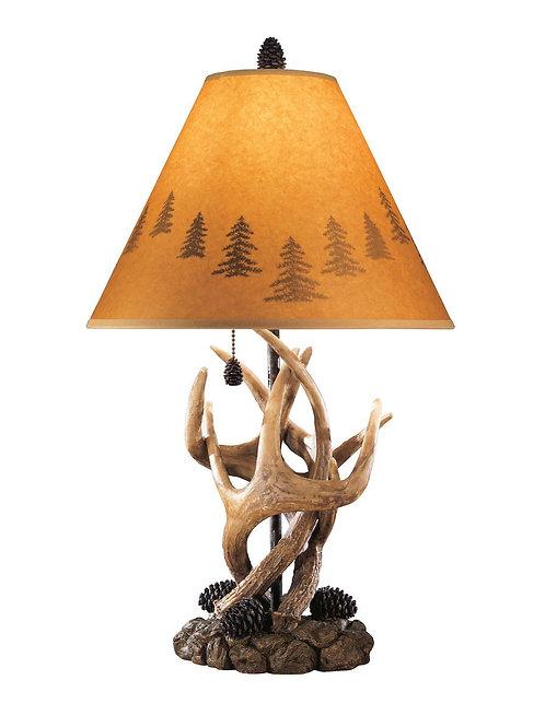 Derek - Brown - Poly Table Lamp (2/CN)
