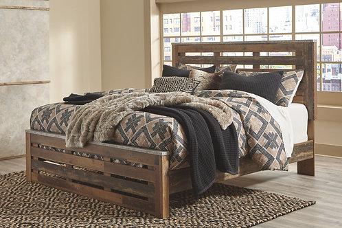 Chadbrook - Brown - King Panel Bed