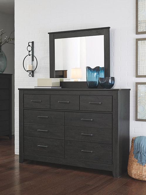 Brinxton - Black - Dresser & Mirror