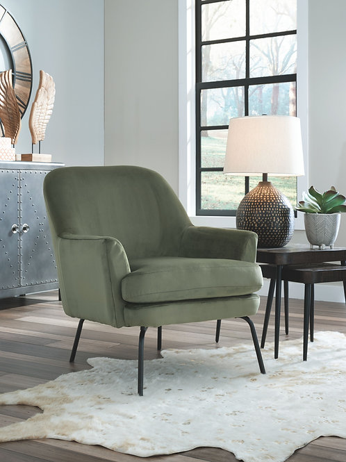 Dericka - Moss - Accent Chair
