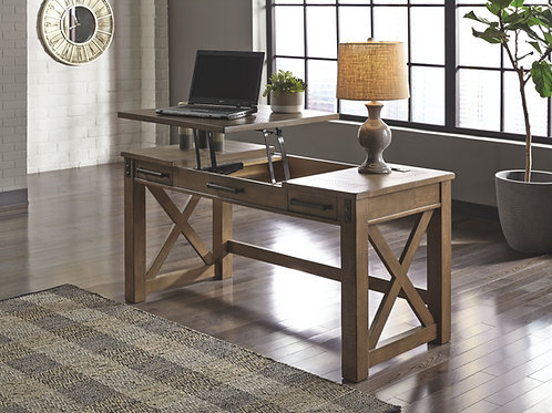 Aldwin - Gray - Home Office Lift Top Desk