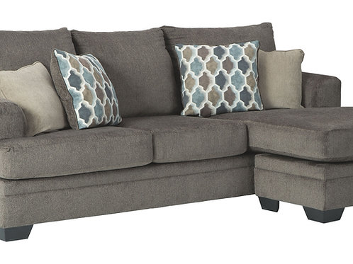Dorsten - Slate - Sofa Chaise