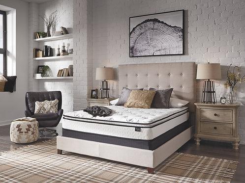 10 Inch Bonnell PT - White - Full Mattress & Foundation
