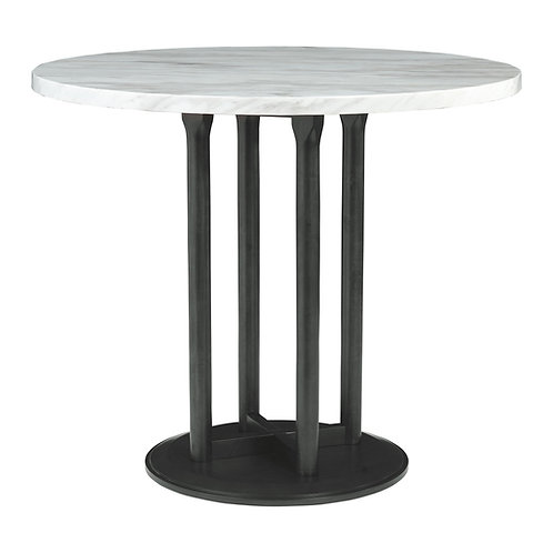 Centiar - Two-tone - Round DRM Counter Table