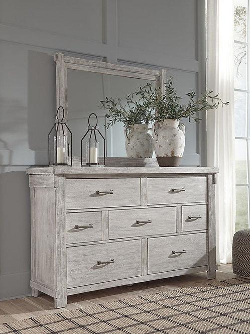 Brashland - White - Bedroom Mirror