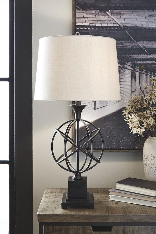 Camren - Black - Metal Table Lamp (1/CN)