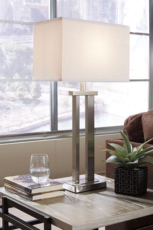 Aniela - Silver Finish - Metal Table Lamp (2/CN)