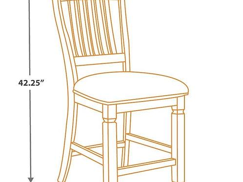 Bolanburg - Two-tone - Upholstered Barstool