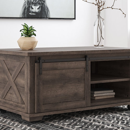 Arlenbry - Gray - Rectangular Cocktail Table