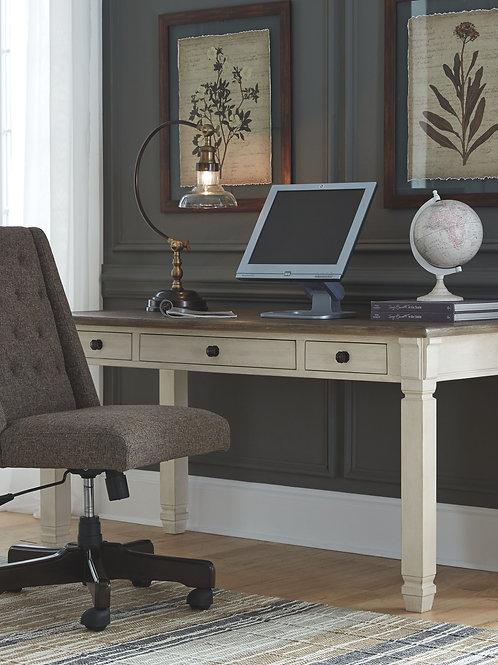 Bolanburg - Two-tone - Home Office Desk & Swivel Chair