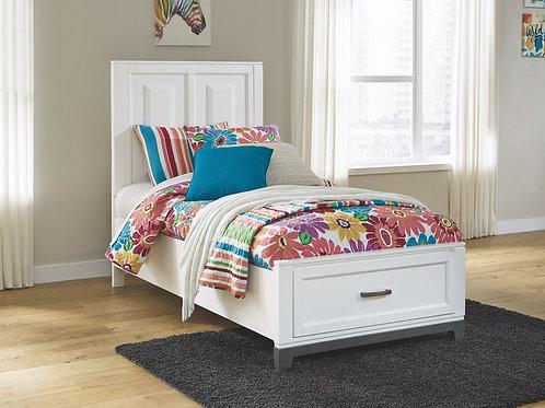 Brynburg - White - Twin Panel Bed