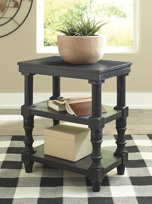 Dannerville - Antique Black - Accent Table