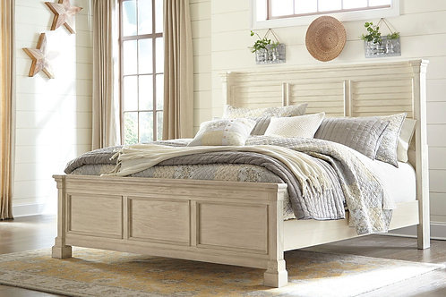 Bolanburg - Antique White - Queen Panel Bed