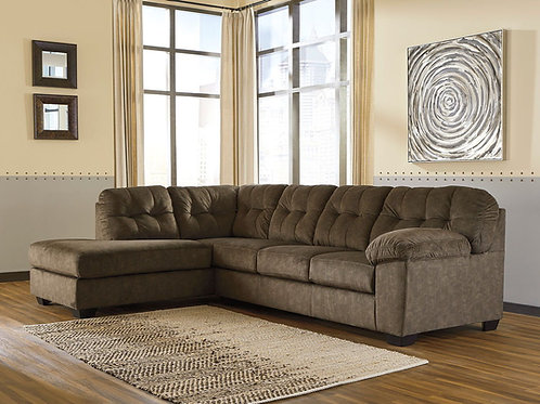 Accrington - Earth - 2-Piece Sectional with Chaise