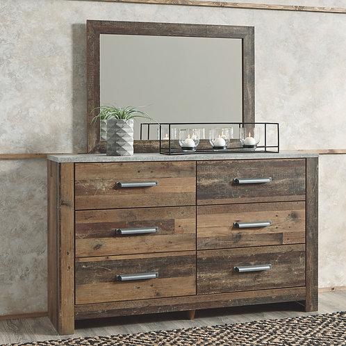 Chadbrook - Brown - Dresser & Mirror