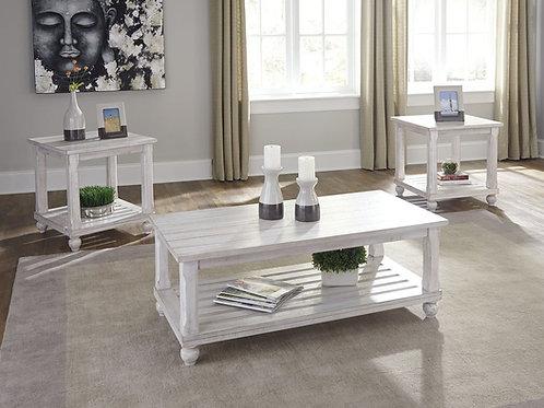 Cloudhurst - White - Occasional Table Set (3/CN)