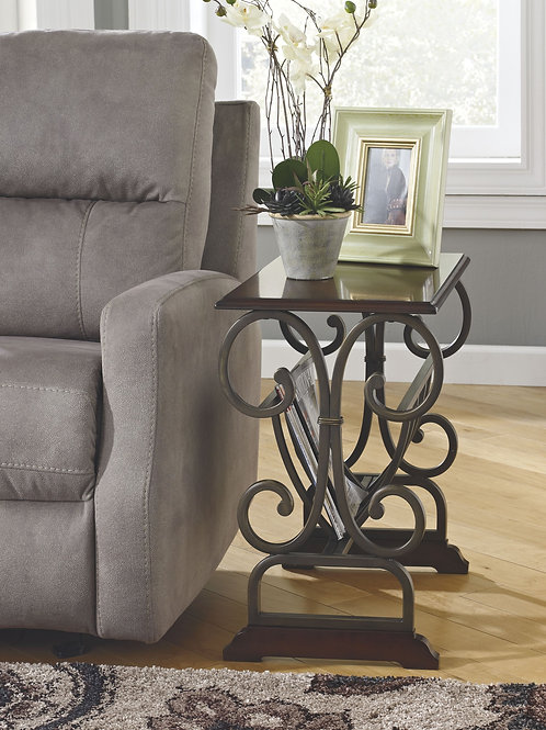 Braunsen - Brown - Chair Side End Table