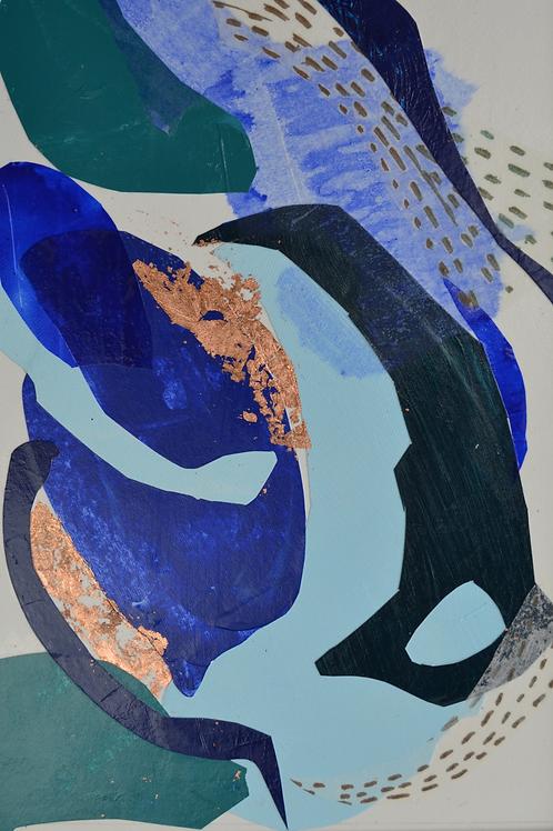 BLUE LAGOON4    20x30cm