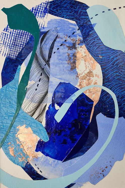 BLUE LAGOON1   20x30cm