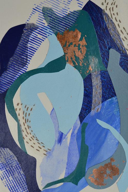 BLUE LAGOON3    20x30cm