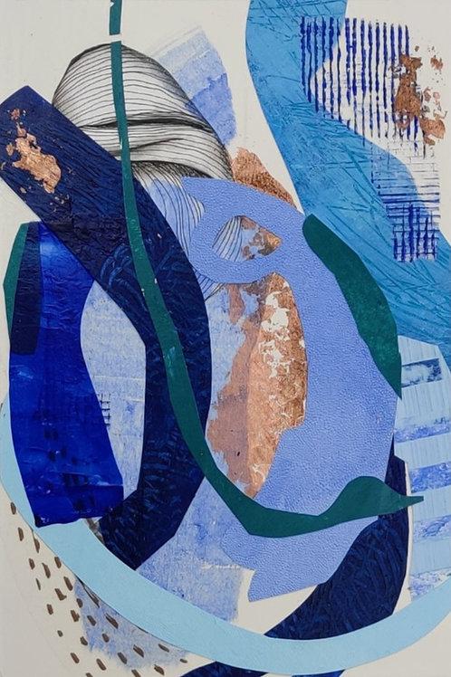 BLUE LAGOON2    20x30cm