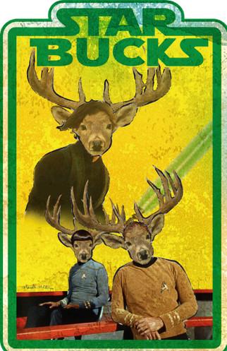 Star Bucks designed by Marcelle Mitchener