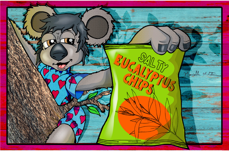Kalaya loves her Chips :: Illustrated by Marcelle Mitchener