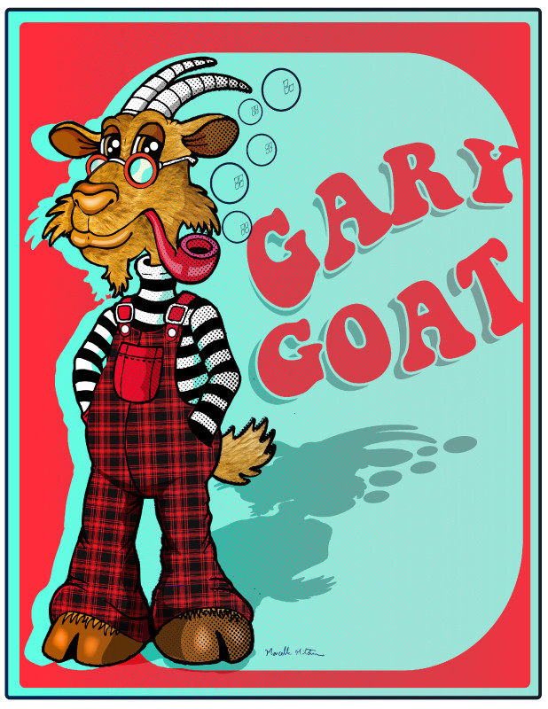 Gary Goat :: Illutrated by Marcelle Mitchener