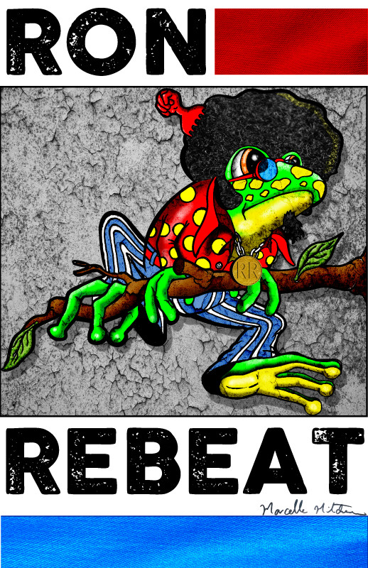 Ronnie Rebeat :: Illustration by Marcelle Mitchener