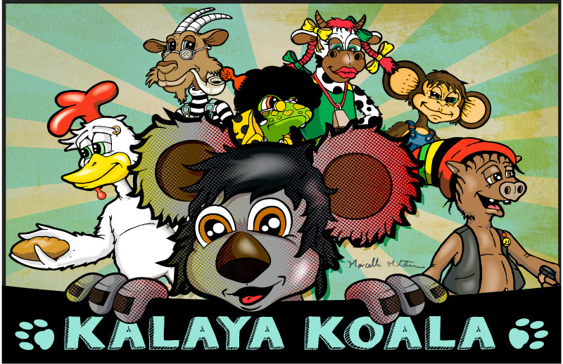 Kalaya & Friends :: Illustrated by Marcelle Mitchener