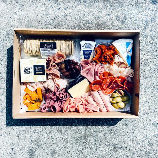 $65 Meat, Cheese & Antipasto  Grazing Box