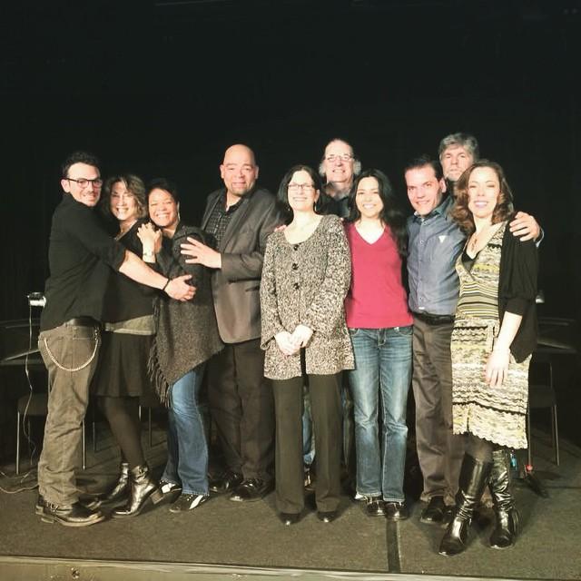 Had the pleasure of sharing the stage with these fantastic artists last week for the reading of Firs