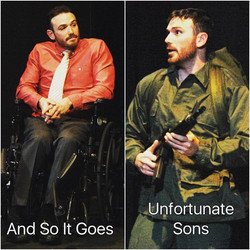 I will be in 2 one act shows this weekend as part of South Camden Theatre Company's _Shadows of War