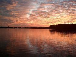 Reflecting on Old Hickory Lake