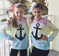 Great Anchor Shirts Girls