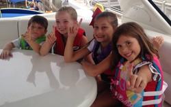Kids enjoying the lake # 1