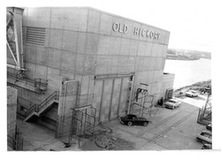 Old Hickory Dam 1950's