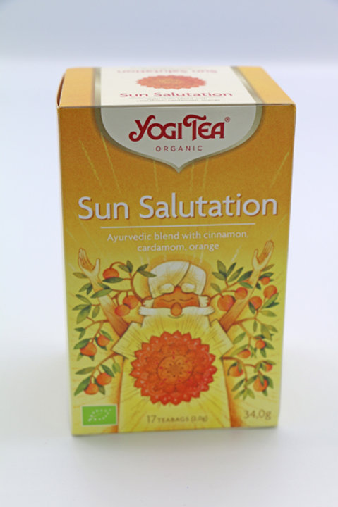 Yogi Tea SUN SALUTATION