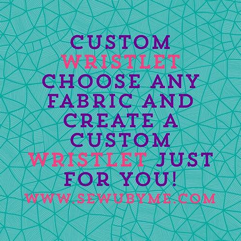 Custom Design Wristlet