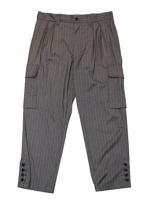 【30%OFF】MODERN MILITARY PANT - PENCIL STRIPE