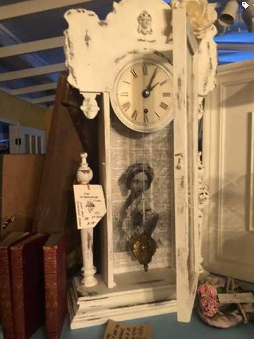 Clock Face with Parisian Papier-mâché Body
