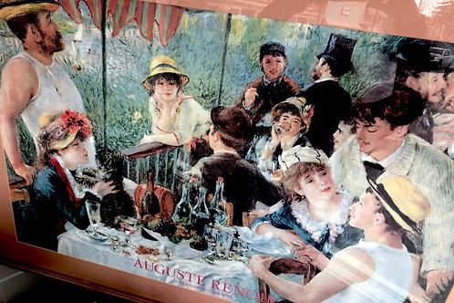 """""""Auguste"""" Renoir """"Boatman's  Lunch"""